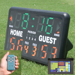 GAMECRAFT SCOREBOARD WHEELED STAND
