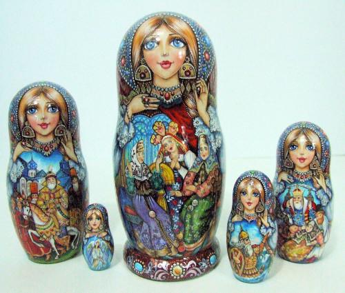 Russian Life Long Ago...by Dolgova