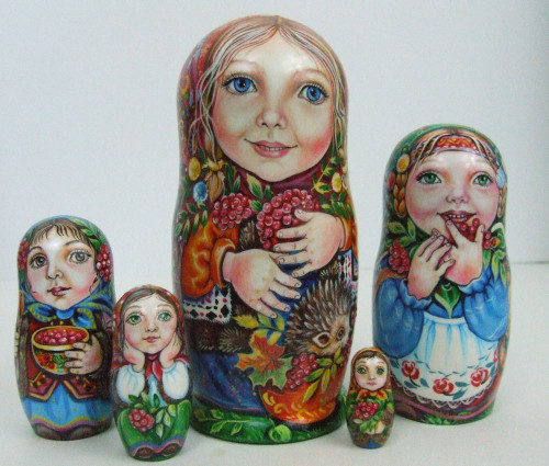 """""""Girls with their Kiwi and Berries"""", by Ludmila Chmelyova"""