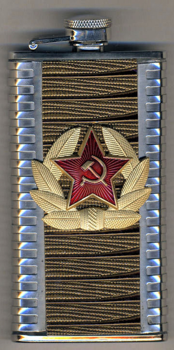 6 oz Russian Drinking Flask 1