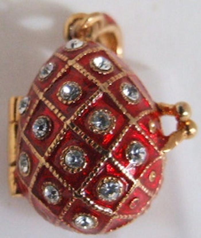 Faberge Egg Pendant #122701