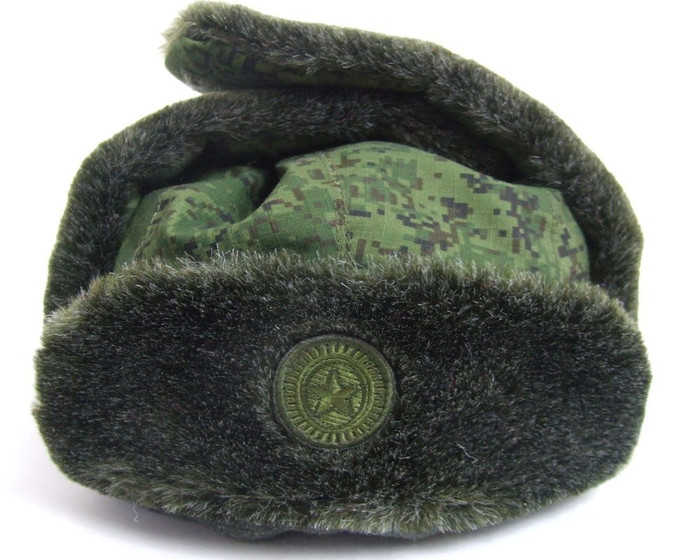 Modern Authentic Russian Army Military Hat w/ Embroidered Russian Armed Forces