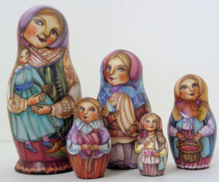 Russian nesting doll by Zhukov