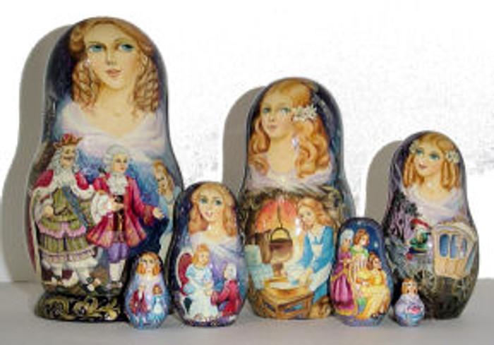 "Fairytale of ""Cinderella"" by Zolotovskaya"