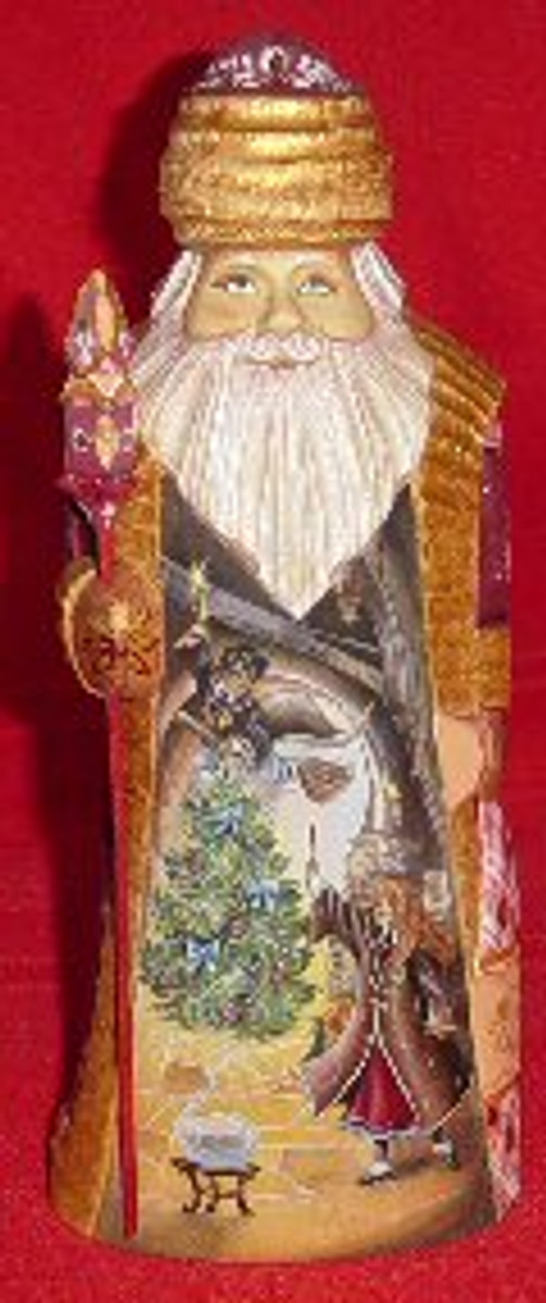 Handcrafted Father Frost 3
