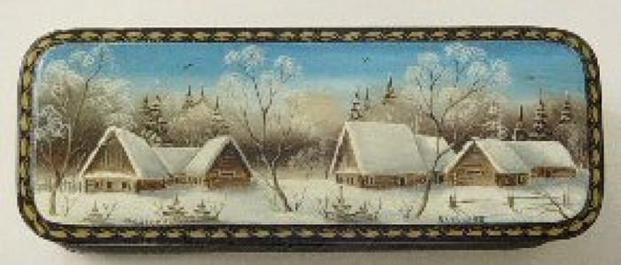 """Winter Village"" by Baruklova"