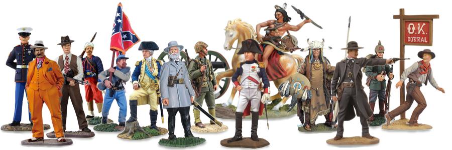 W Britain, Black Hawk, Collectors Showcase Metal Toy Soldiers