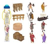 Safari Toob 660304 - Ancient Rome Roman Colosseum Playset (12) Painted Plastic Figures