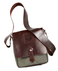 Red Scarf - Pro Rider Equestrian Collection Satchel (Olive)