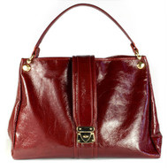 The Bexley Hobo in Maroon full grain Italian leather is fittingly fashioned for the girl who desires total practicality with a polished look and the luxury of stylish extras. With the distinctive & Stylish Christina Castillo gold & white metal hang tag.  Proudly made in the USA*