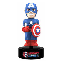 Captain America Marvel Comics Solar-Powered Bobble Head