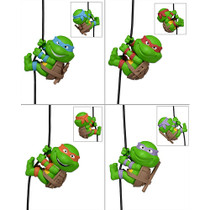 "Scalers - 2"" Characters - TMNT - Turtles Complete Set"