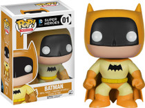 Funko Batman 75th Anniversary Yellow Rainbow Batman Pop! Vinyl Figure