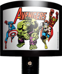 Avengers Retro Group Night Light