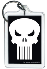 Marvel Comics Punisher Logo Lucite Keychain 65785KR