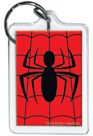 Marvel Comics Spiderman Logo Lucite Keychain 65791KR