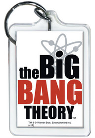 The Big Bang Theory Logo Lucite Keychain