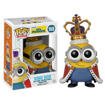Funko Minions Movie Minion King Bob Pop! Vinyl Figure