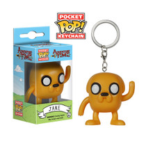 Funko Adventure Time Jake Pocket Pop! Vinyl Figure Key Chain