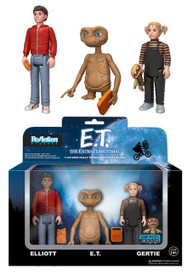 Funko E.T. ReAction Elliot, ET & Gertie Action Figure 3-Pack