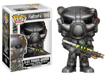 Fallout 4 Funko POP! Games X-01 Power Armor Vinyl Figure #166