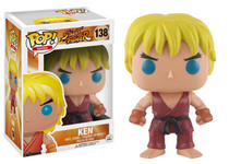 Funko POP! Games Street Fighter Ken Vinyl Figure #138