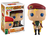 Funko POP! Games Street Fighter Cammy Vinyl Figure #139