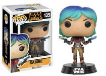Funko POP! Star Wars Rebels Sabine Vinyl Bobble Head #135