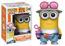 Despicable Me 3 Funko POP! Movies Tourist Jerry Viny Figure #419