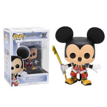 Unlock the light with the help of a familiar friend! From the Kingdom Hearts video game series comes a Funko-tastic Mickey. Packaged in window display box, this Kingdom Hearts Mickey Pop! Vinyl Figure measures approximately 3 3/4-inches tall. Ages 3 and up.