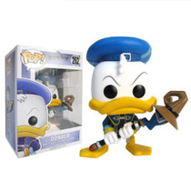 Unlock the light with the help of a familiar friend! From the Kingdom Hearts video game series comes a Funko-tastic Donald Duck. Packaged in window display box, this Kingdom Hearts Donald Duck Pop! Vinyl Figure measures approximately 3 3/4-inches tall. Ages 3 and up.