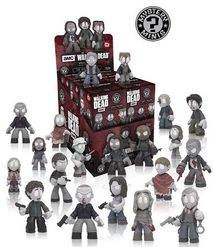 Funko Walking Dead In Memoriam Mystery Minis Series 8 Display Case - sealed 12 Packs