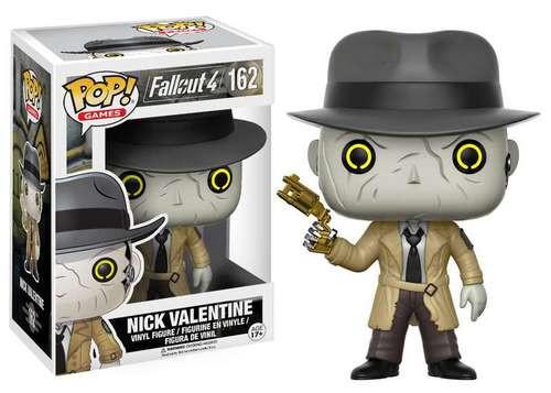 Funko Pop Games Fallout 4 Nick Valentine Vinyl Figure