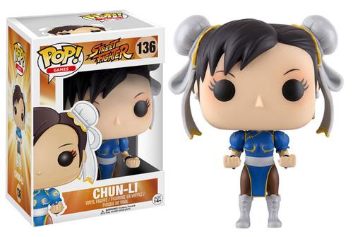 Funko Pop Games Street Fighter Chun Li Vinyl Figure 136