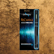 1 ReCharge Tip-Recharging Battery  6 ClearView eLiquid Tanks (choose tobacco or menthol) 1 Tip-Recharging USB Charger