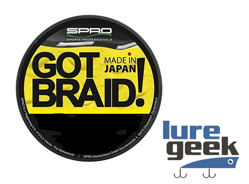 Spro Braid Yellow 150m 10lb