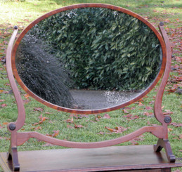 Antique swing dressing table mirror Maple and Co.
