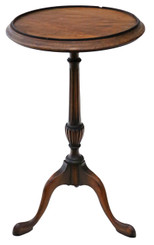 Antique Georgian mahogany wine table side occasional