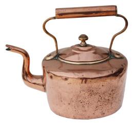 Antique Victorian 19th Century copper kettle