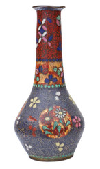 Antique 19th Century Japanese oriental vase cloisonne