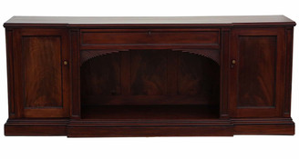 Antique large quality Regency flame mahogany sideboard chiffonier C1825