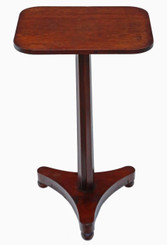 Antique Victorian C1840 mahogany quality wine table side occasional