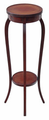 Antique Edwardian inlaid mahogany plant stand jardiniere table