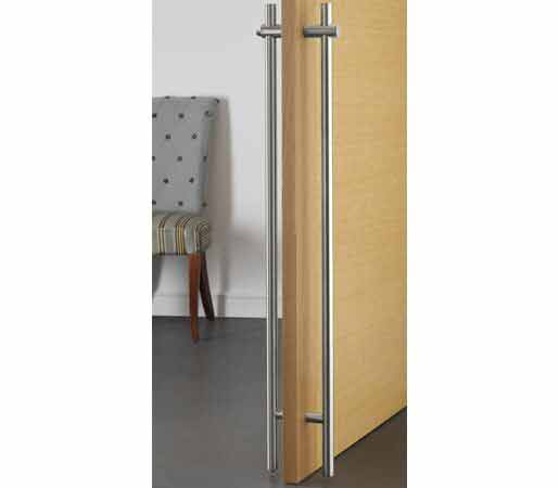 60 Pull Handle / Lock and Key, Wood Door System