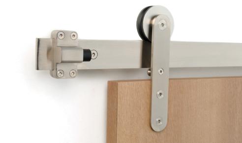 strongar-roller-installed-001-optimize.jpg  sc 1 st  Strongar Hardware & Flat Track Door Hardware | Strongar Hardware