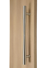 Hour Glass Ladder Pull Handle - Back-to-Back (Brushed Satin Stainless Steel Finish)