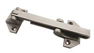 Zinc Alloy Satin Nickel Finish Door Security Guard with Swing Bar Lock