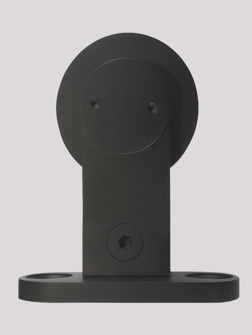 Grand Wt Barn Door Roller Black Powder Finish Strongar Hardware