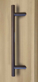 45º Offset Ladder Pull Handle - Back-to-Back (Bronze Stainless Steel Finish)