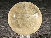Yellow Calcite 60mm Stone Sphere